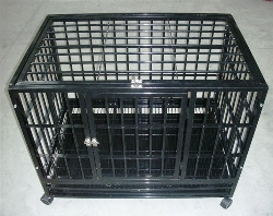 """heavy duty dog crate level 3 48"""""""