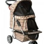 Pet Stroller Tri Wheel