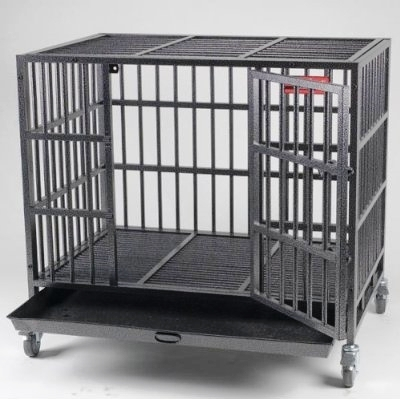 strongest heavy duty dog crate cage kennel