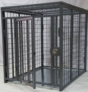 Ultra Heavy Duty Dog Crate Portable Steel Construction