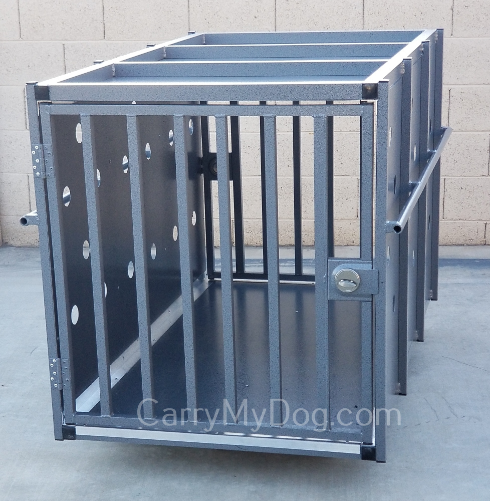 Xtreme-heavy-duty-dog-crate-designed-for-use-at-Pacific-Marine-Mammal-Center