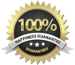 Happiness Guarantee Logo