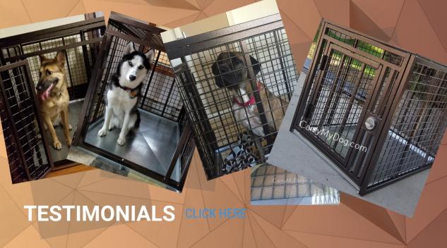 Testimonial Banner Xtreme dog crates