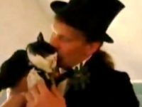 German Man Marries his Pet Cat Cecilia